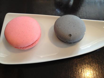 Rose & Raspberry. Black Sesame & Yuzu