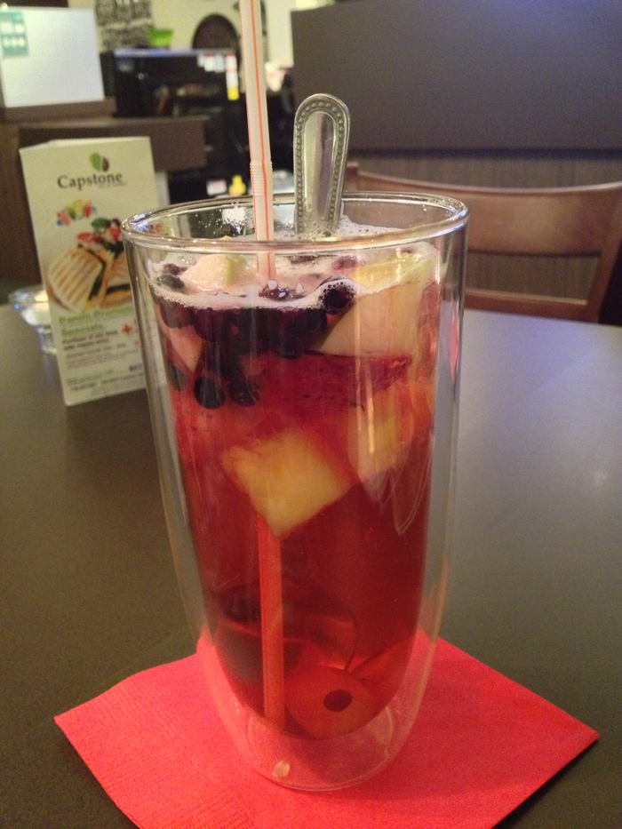 blueberry fruit tea 1