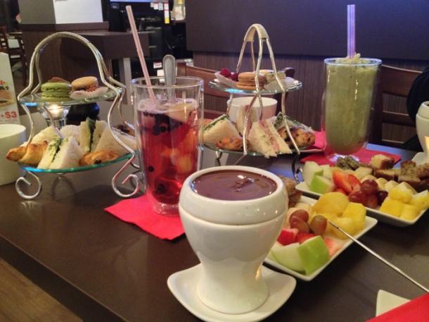 high tea fondue capstone