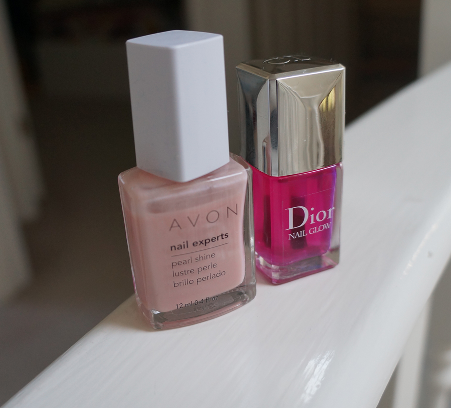 NOOTD: Perfect sheen with Dior's Nail Glow