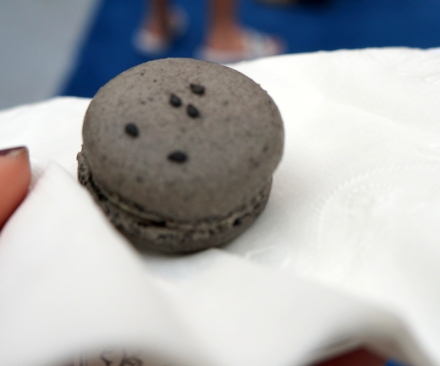 black sesame lime mascaopone